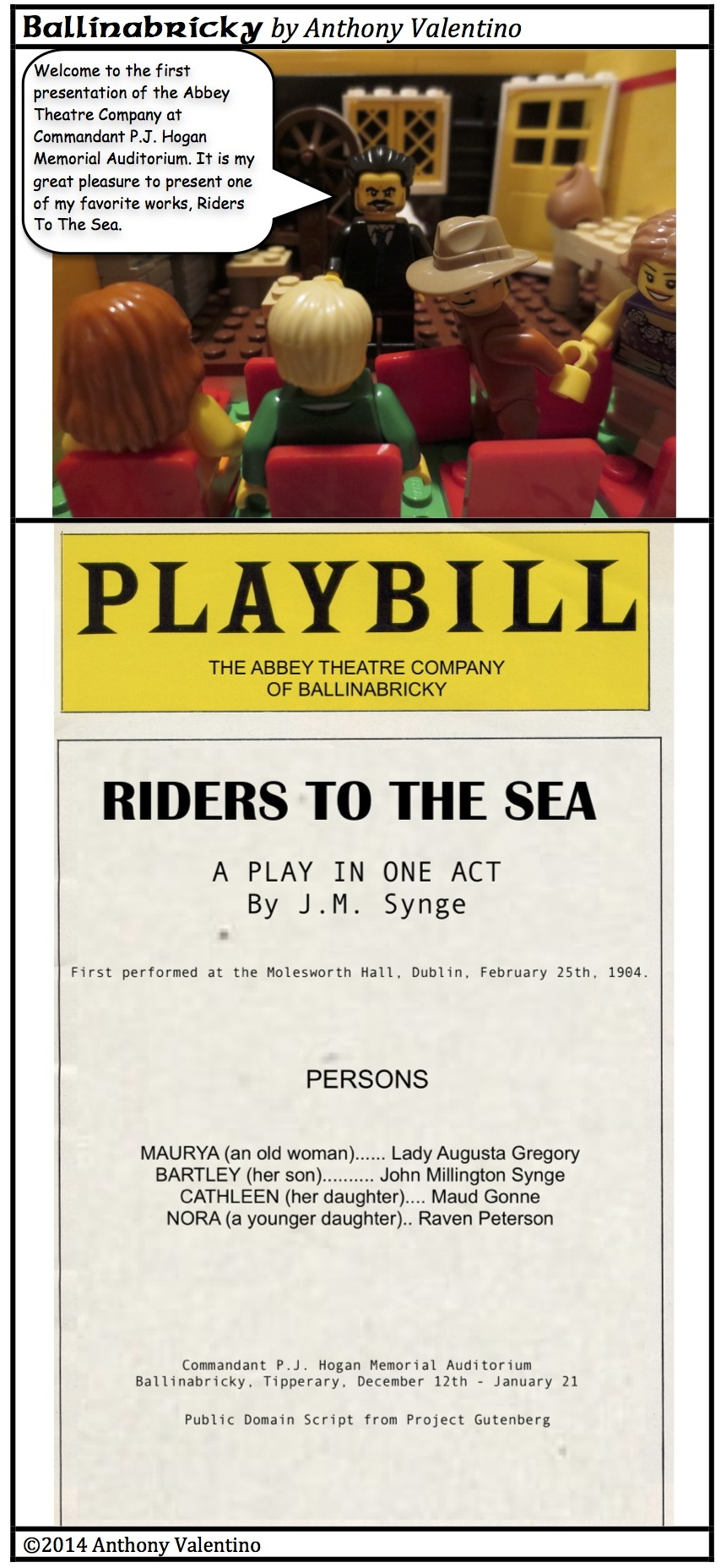 riders to the sea by the A critical essay on the symbols and images used by synge, drawing from both classical and biblical archetypes, in the riders to the sea.
